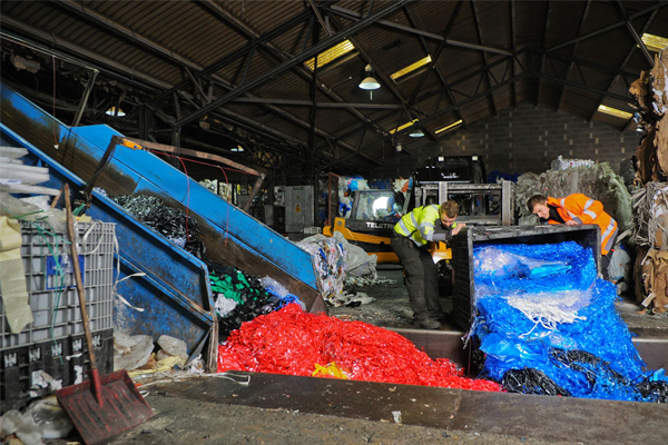 Recycling materials min
